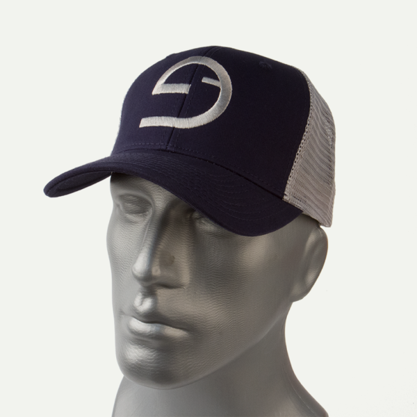 Mid-Crown Trucker Hat - SubGravity Symbol